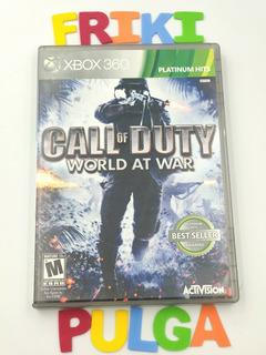 Call Of Duty World At War Xbox 360 Seminuevo
