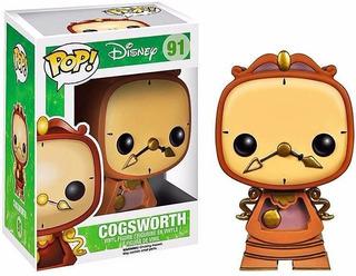 Funko Pop Cogsworth 91 Disney Muñeco Original