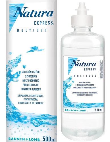 Natura Express Solución Esteril Para Lentes Contacto X 500ml