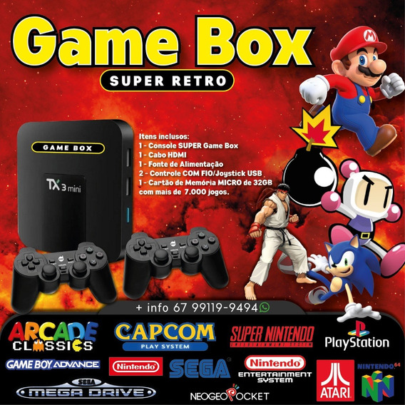 Game Box (7.000 Jogos) 3gb Ram 32gb Sd