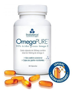Omega Pure - Omega 3 - 500mg 60caps [original+nf]
