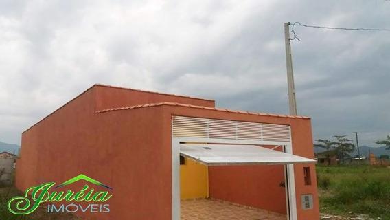 Casa Nova Com Terreno No Santa Isabel - Peruibe/sp Ref. C928