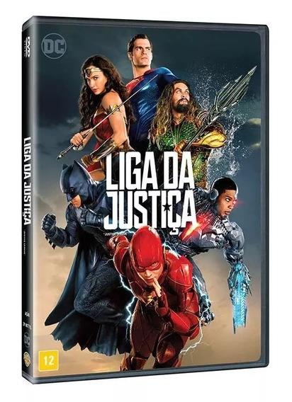 Dvd Filme Liga Da Justiça [original] (2017)