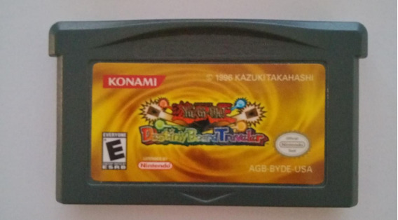 Gba Yu Gi Oh Destiny Board Traveler Game Boy Advance Ds