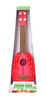 Guitarra Modelos Frutales Frutilla 1540497 Envio Full