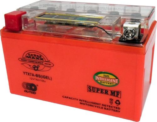 Bateria Gel 7 Ah Para Varios Modelos 125-200cc