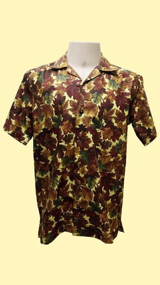 Camisa Masculina Hawaiana 0068 (verifique As Medidas)