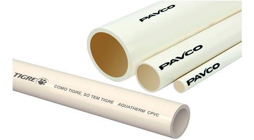 Tuberia Pavco Para Agua Caliente 3/4 X 3 Mts X Pack De 2