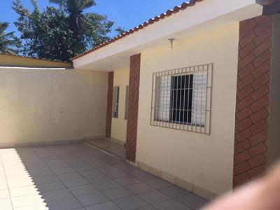 Ótima Casa Jardim Jamaica, 100 M. Da Praia, Ref. 0737 M H