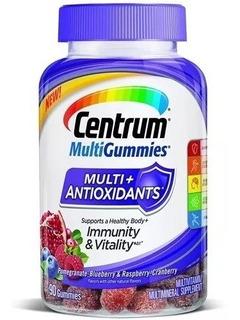 Centrum Multigummies Multi+ Antioxidante 90 Comprimidos