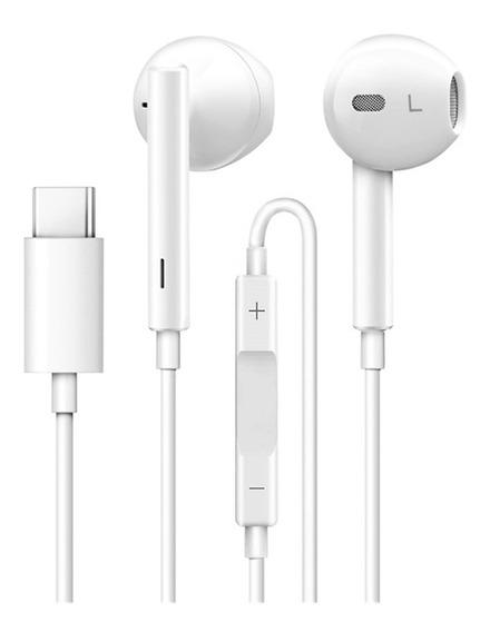 Tipo - C Fones De Ouvido Com Microfone Para Huawei Companhei