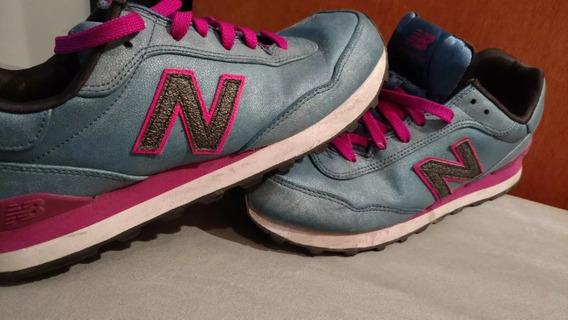 Zapatillas New Balance 515 Azul Fucsia