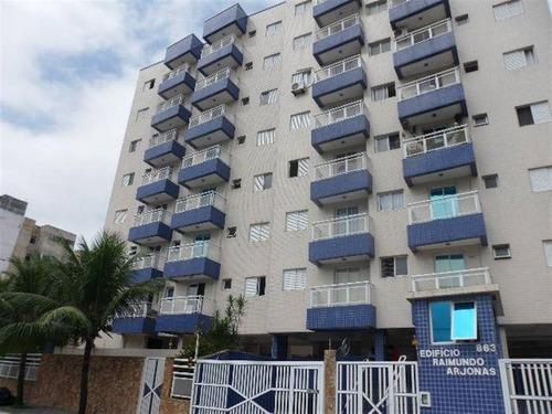 Imagem 1 de 17 de Apartamento, 1 Dorms Com 30 M² - Campo Da Aviacao - Praia Grande - Ref.: Pr2003 - Pr2003
