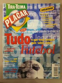 Revista Placar- Tira Teima. Num 1 Nov De 1997