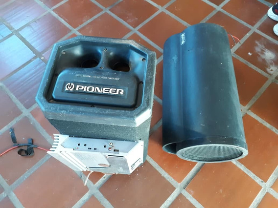 2 Cornetas Bazooka Originales Y Amplificador