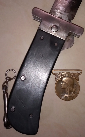 Antiguo Machete Plegable Piloto Inglés 1945. Sable. Bayoneta