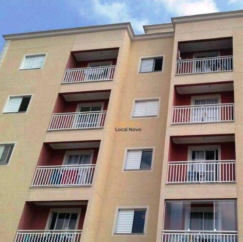 Imagem 1 de 7 de Apartamento Com 2 Dormitórios À Venda, 51 M² Por R$ 190.000,00 - Bonsucesso - Guarulhos/sp - Ap0742