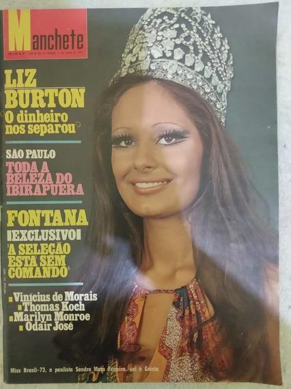 Revista Manchete Número 1109 21 De Julho De 1973 Impecável