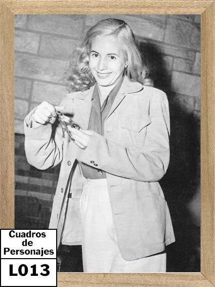 Eva Peron Cuadros Posters Enmarcado L013