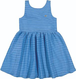 Vestido Infantil Coloritta Royalle