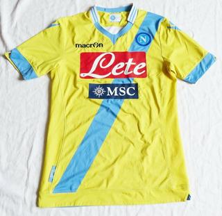 Camisa Napoli Away Macron 2013