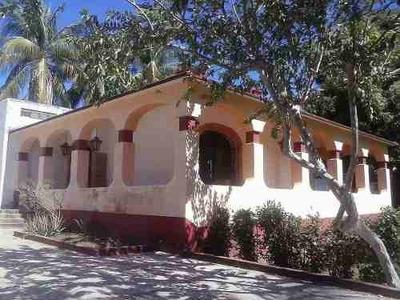 Hermosa Casa En Venta En Puerto Escondido, Oaxaca