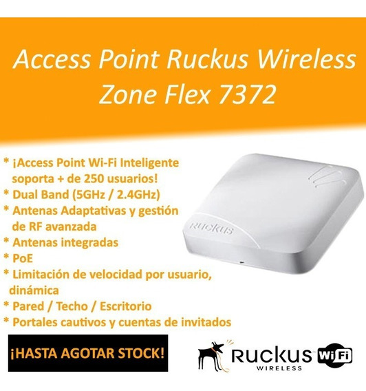 Access Point Ruckus Zoneflex 7372 Wireless Dual Band