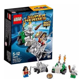 Lego Wonder Woman Vs Doomsday Super Heroes 76070 Educando