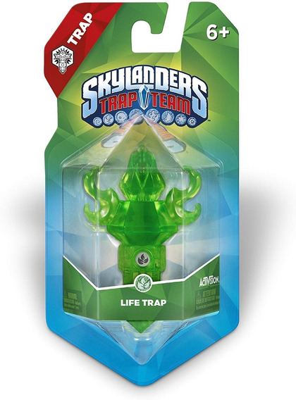 Skylanders Trap Team Life Element Trap Armadilha Vida