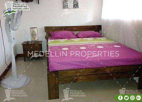 Apartamentos Amoblados Medellin Mensual  Cód: 4415