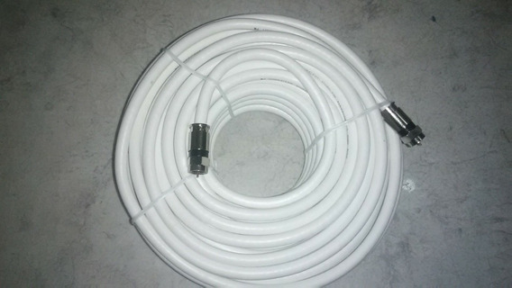 Cable Coaxial Rg6 Blanco.