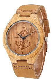 Relógio De Bambu Perdidos No Mar
