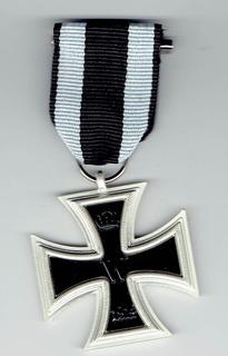 Condecoración Cruz De Hierro, 1914, Iww (repro). Jp