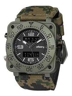 Reloj Infantry Para Hombre 4895203613920 Color Negro