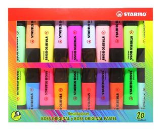 Resaltadores Stabilo Boss X 20