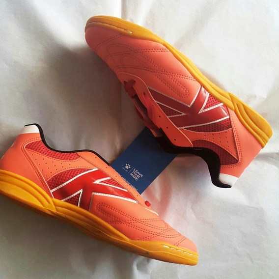 Tenis Futsal Kelme Skill - Coral - Original!!!