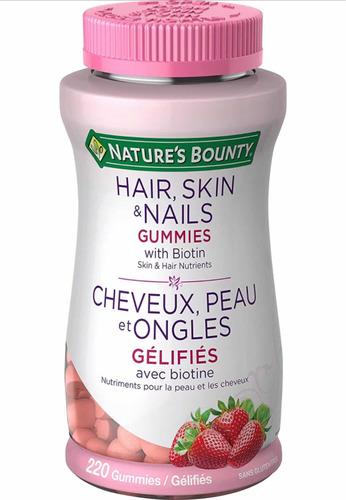 Natures Bounty 220 Gomitas Hair, Skin & Nails Belleza