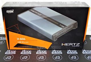 Amplificador Hertz H604 Potencia 1280w. Producto Original