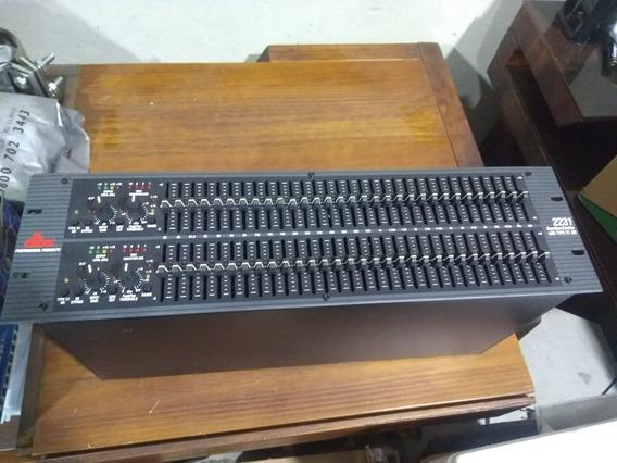 Equalizador Gráfico Dbx 2231v Stéreo 31 Bandas 2 Canais
