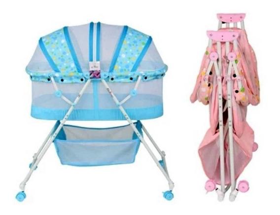 Cuna Plegable Portable Para Bebé Niña Niño Sz