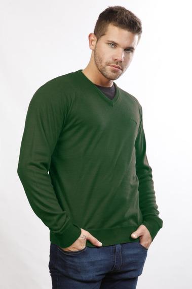 Sweater Hilo Escote V Hombre | Panther (15002)