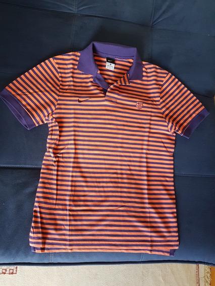 Camisa Polo Viagem ,barcelona ,de Coleção, Usada 1 Ou2 Vezes