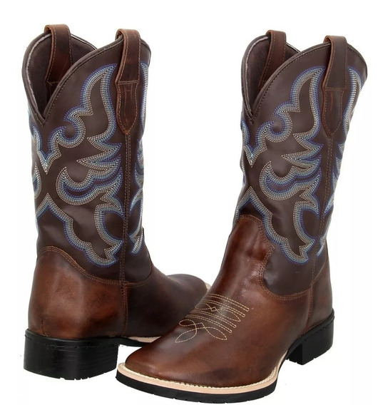 Bota Texana Country Masculina Bic Quadra.monster 33 Ao 45.
