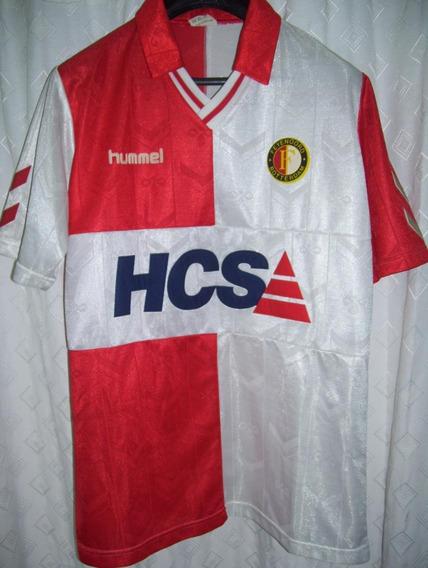 Feyenoord Holanda Increible Hummel 1989 Original De Epoca !