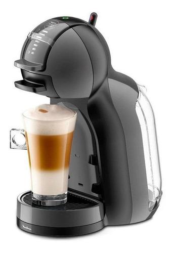 Imagen 1 de 2 de Cafetera Nescafé Moulinex Dolce Gusto Mini Me automática negra para cápsulas monodosis 230V