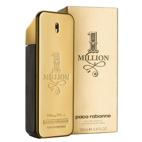 Perfume Paco Rabanne 1 Million Eau De Toilette 100ml