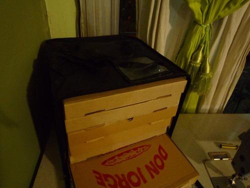 Bolso Termico Delivery De 6 Cajas Con Cierre -mercadoenvios