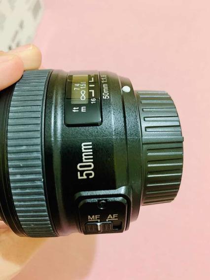 Lente Yn 50 Mm Para Nikon