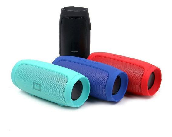 Caixa De Som Portátil Bluetooth Charge Mini 3+ Fm Pen Drive