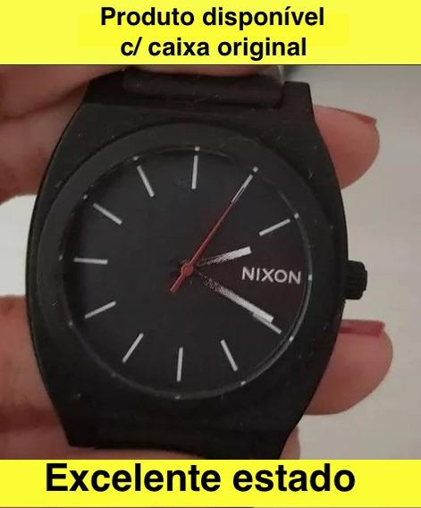 Relógio Nixon Time Teller P Pulseira Black- White Fade ( Degradeé ) Na Caixa